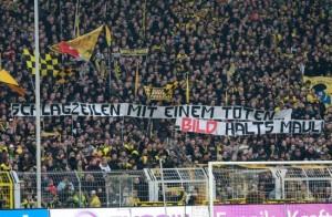 BVB-Fans gegen BILD - Foto von Schwatzgelb.de
