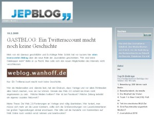 Jep-Blog