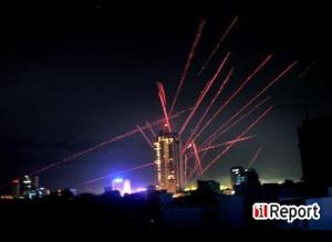 Flak-Feuer über Colombo (Copyright: iReport.com)