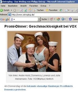 VOX-Schelte