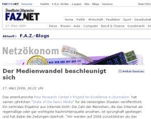 FAZ-Blog