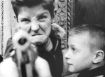 William Klein, Gun 1, New York (1955)