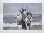 Gerhard Richter, Familie am Meer (1964)