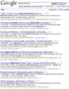 Mein großer Erfolg bei Google