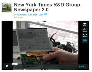 Besuch bei den Forschern und Entwicklern der New York Times