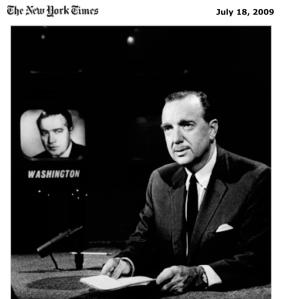 Fehler über Fehler: Walter Cronkite in der NYT