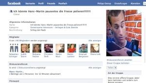 Mobbing-Gruppe bei Facebook