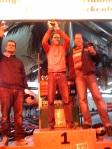 Die Sieger: Arne, Chris, Constantin
