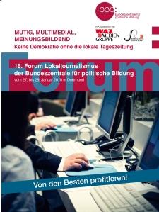 Forum Lokaljournalismus 2010