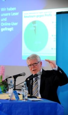 Reinhard Rauball, Promi-Gast unseres Fußballgipfels
