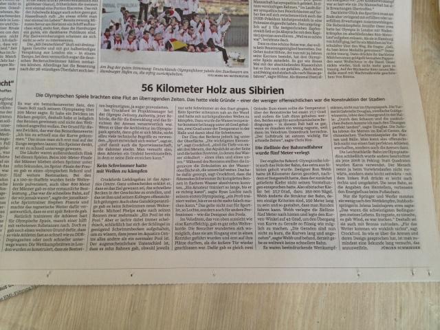 """SZ-Artikel """"56 Kilometer Holz aus Sibirien"""""""
