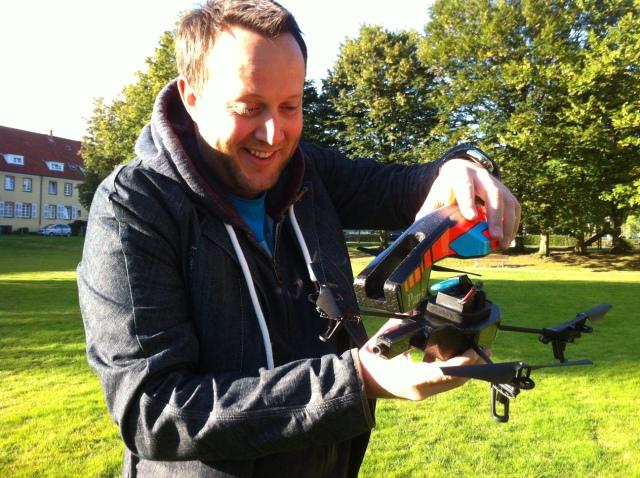 Spaß mit der Drohne